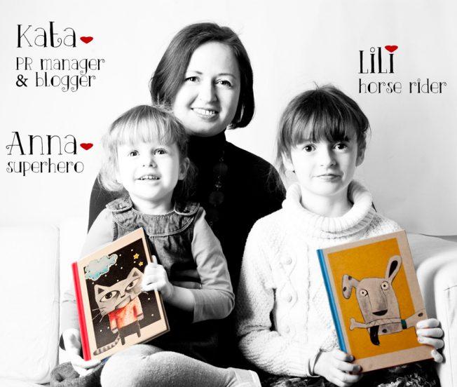 Kata, Lili, Anna