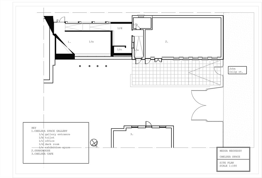 Chelsea space AUtoCad drawing